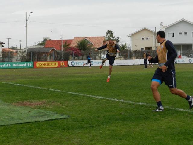 Marquinhos está de volta ao time do Avaí (Foto: André Palma Ribeiro/Avaí)