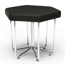 OFM Hex Stool in Midnight