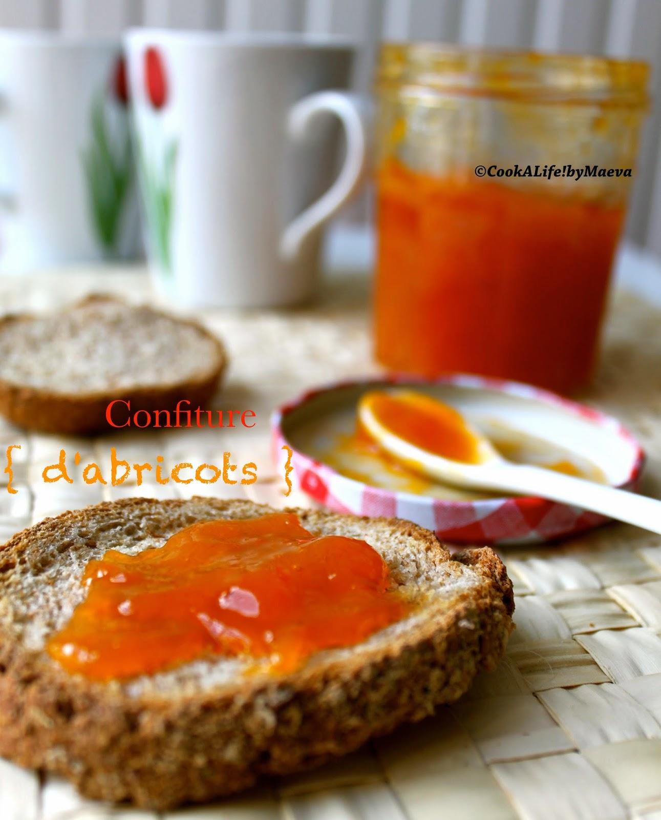 cook a by maeva confiture d abricots les classiques