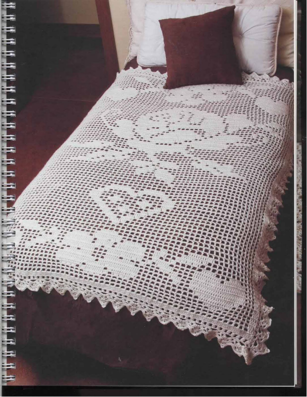 mossita bella patrones y gr ficos crochet colcha para. Black Bedroom Furniture Sets. Home Design Ideas