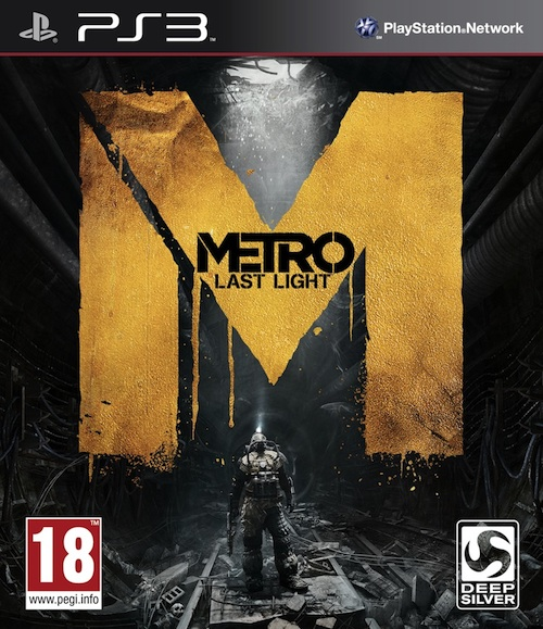 Metro: Last Light PlayStation 3 Box Art