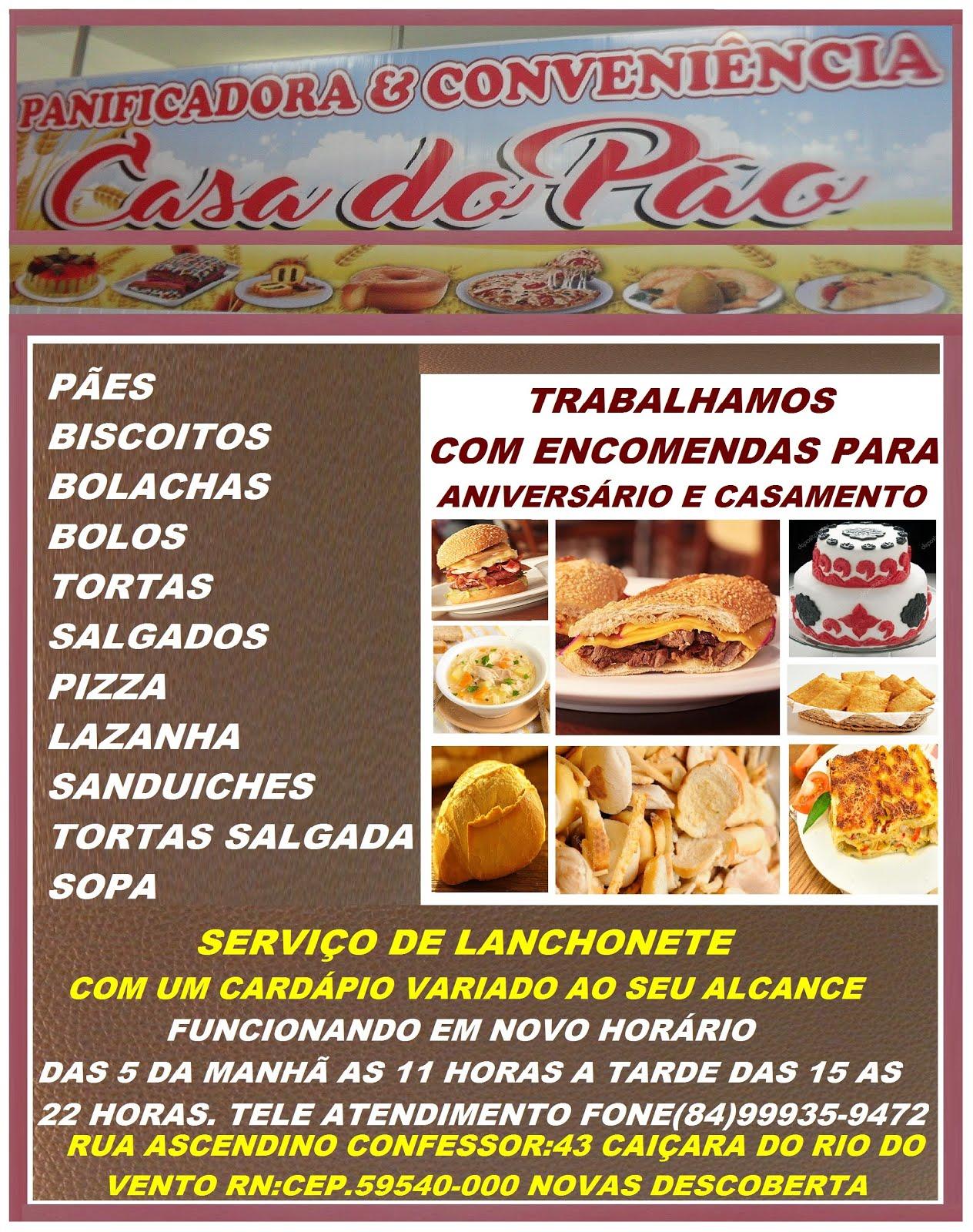 PANIFICADORA E C. CASA DO PÃO