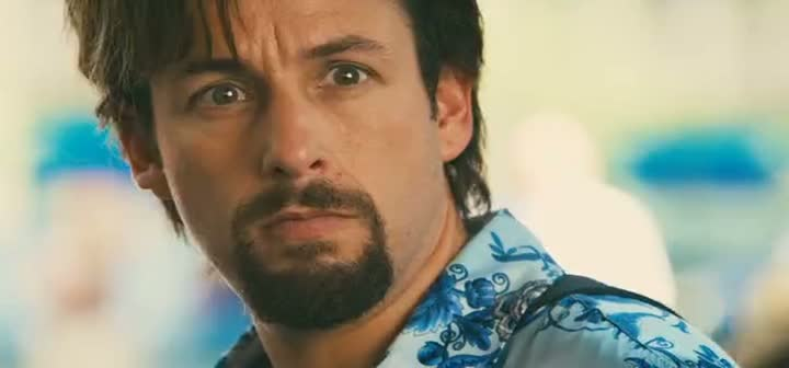 Screen Shot Of You Don't Mess with the Zohan (2008) Dual Audio Movie 300MB small Size PC Movie