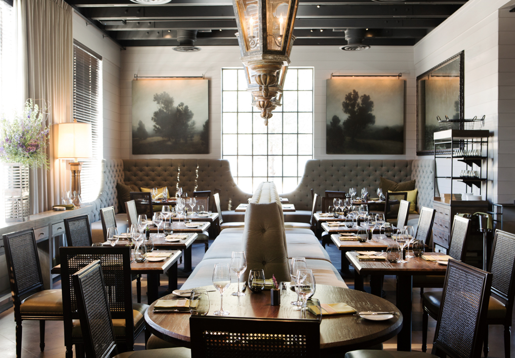 Architects Bobby McAlpine David Baker And Designer Susan Ferrier Bring The Appeal Of Provenance To Austin LaV Restaurant