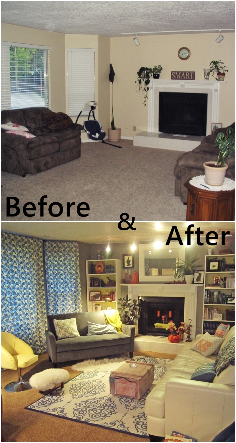 Living Room Make Over Classy With Living Room Makeover Image