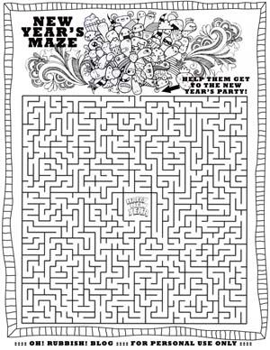 New Year Maze