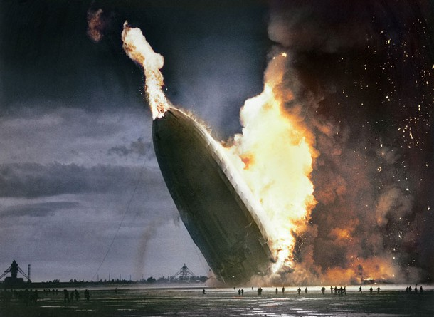 Hindenburg Disaster – May 6, 1937