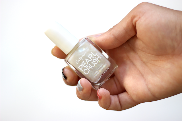 Sally Hansen Pearl Crush Nail Colors in Oy-ster It Up!