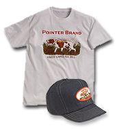 Brinde Grátis Camiseta e Boné Pointer Brand