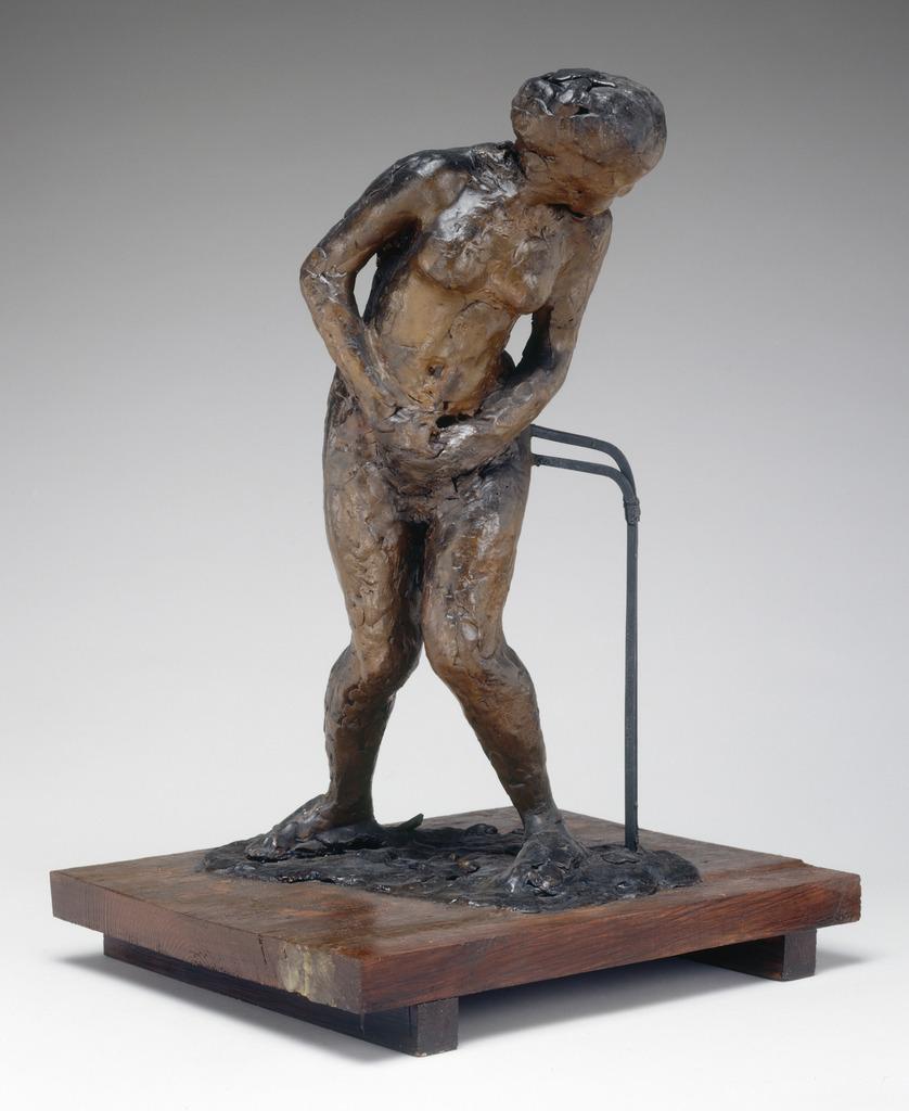 Edgar  Degas  Woman  Taken  Unawares C