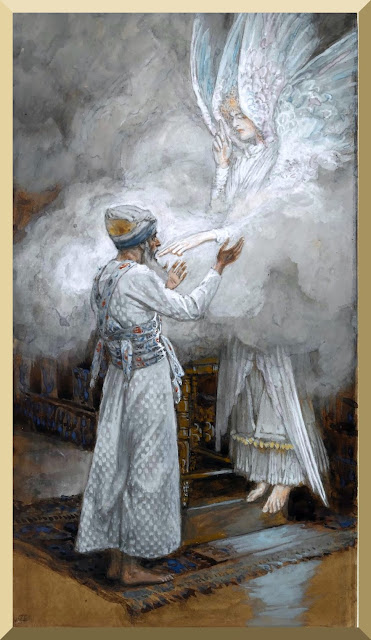 """The Vision of Zacharias"" -- by James Tissot"