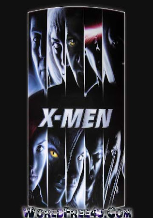 Poster Of X-Men 2000 In Hindi Bluray 720P Free Download