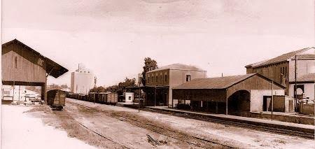 Estacion de tren de binefar