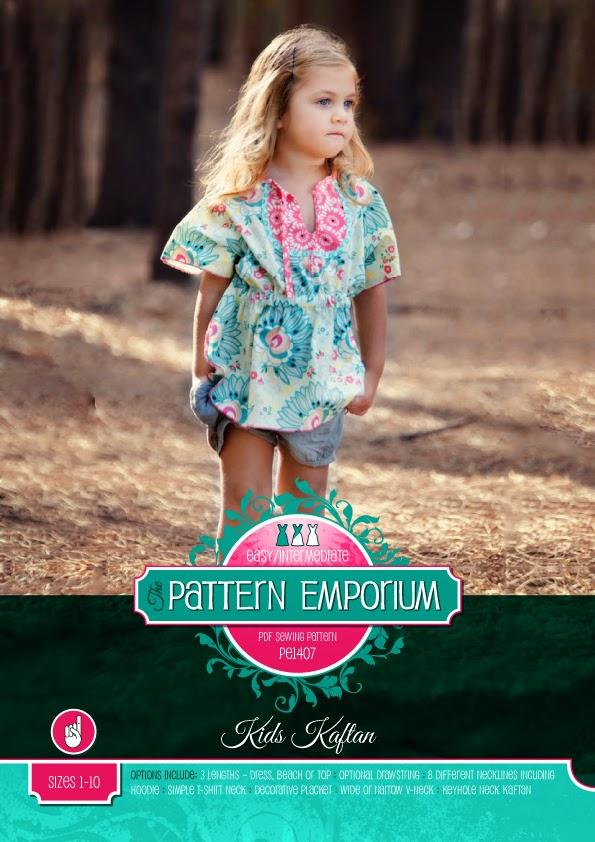 Introducing... The Kids Kaftan Pattern | Pattern Emporium