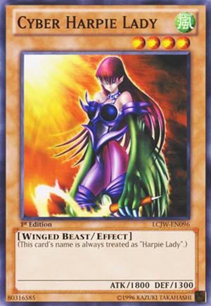 Cyber Harpie Lady