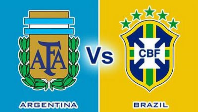 Argentina vs Brasil Uji Coba Internasional Friendly Match 2013