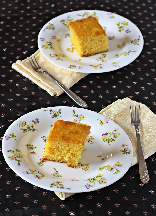 Mango Cake Using Yellow Cake Mix