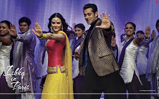 Ishkq In Paris HD Wallpaper Hot Preity Zinta and Salman Khan