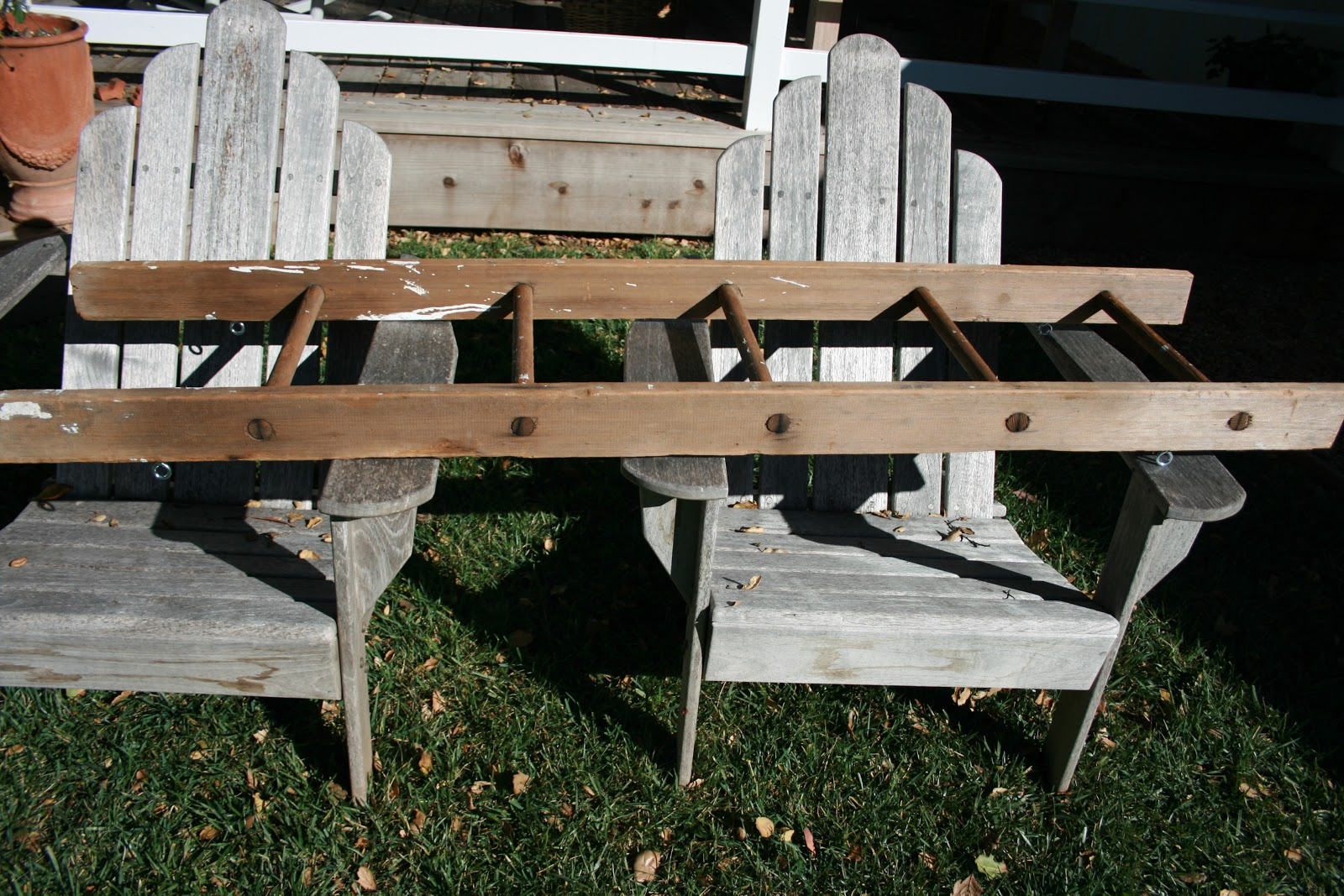 The polished pebble laundry room ladder project for Ladder project