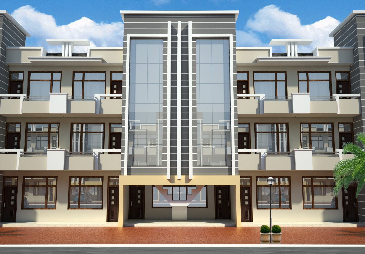 bhk flat for sale in zirakpur title=