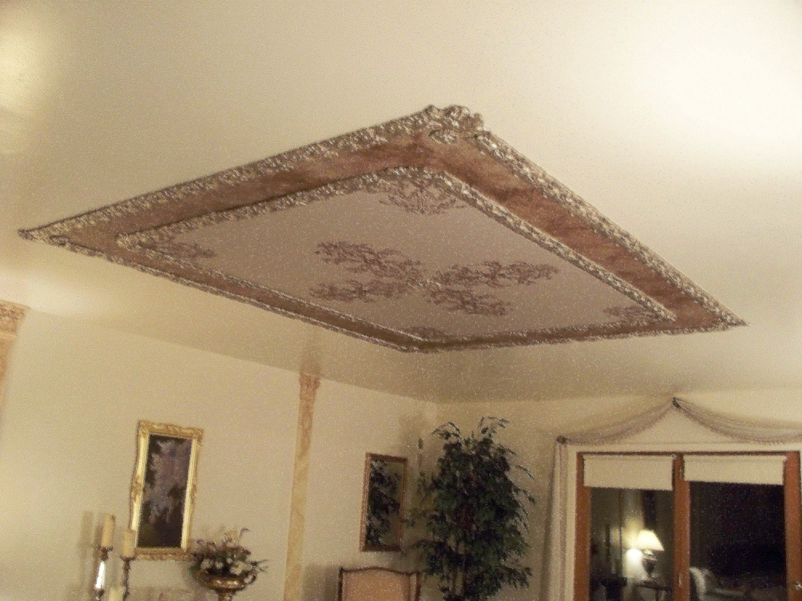 Victoria larsen 39 s decorating with class april 2012 for Raised bedroom ceiling