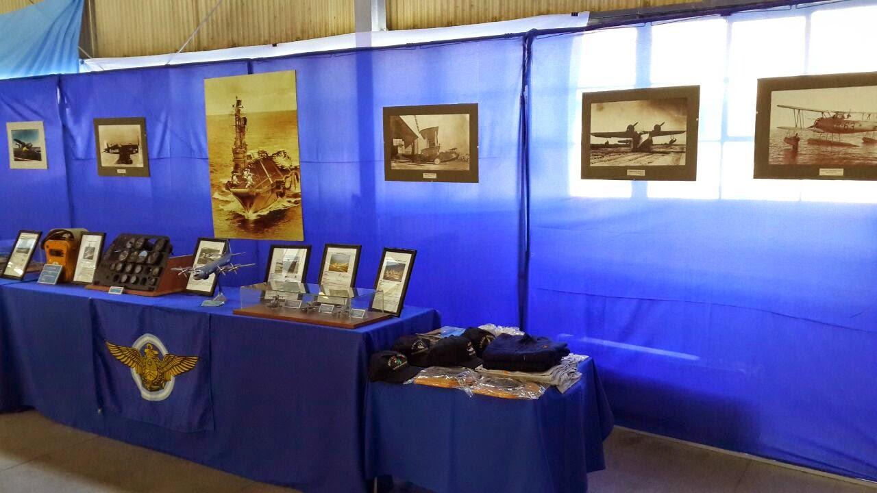"""Museo de la Aviación Naval en """"Argentina Vuela"""" 2014"""