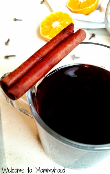Easy, healthy recipes: mulled wine #wiaw