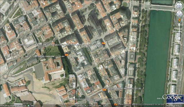 ANGEL CRUZ SALCINES ETA, San Sebastián, Donostia, Guipúzcoa, Gipuzkoa, España, 5/12/78