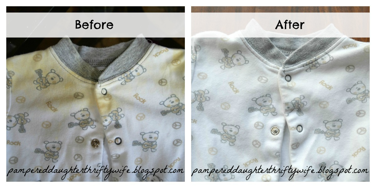 Pampered Daughter Thrifty Wife: How to REMOVE stains from ...