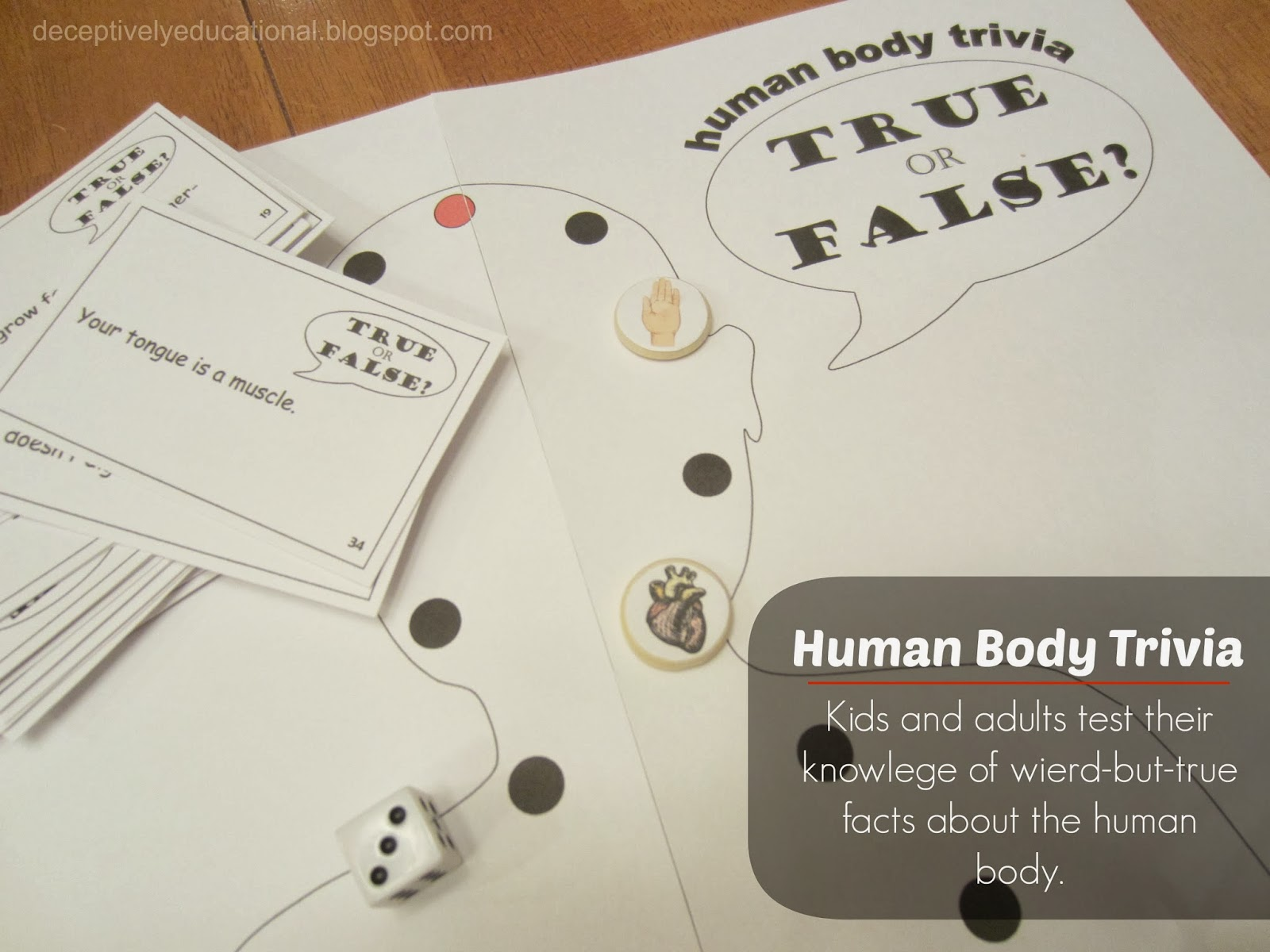Relentlessly Fun Deceptively Educational Human Body Trivia
