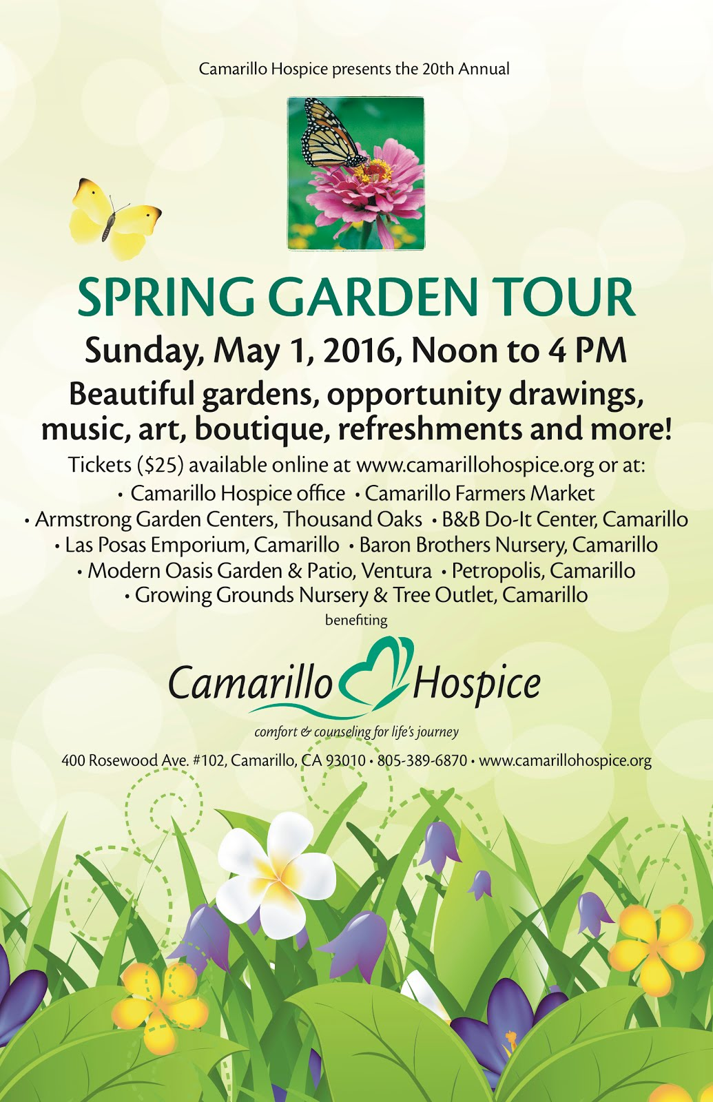 And, Just Around The Corner We Will Have Members Doing Demos For The Spring  Garden Tour! If You Are In The Neighborhood, Check It Out!