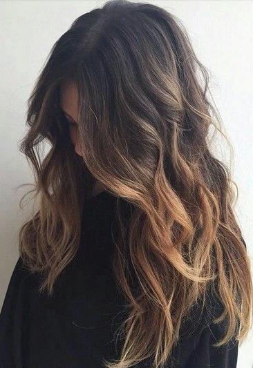 warna rambut ombre coklat spesial