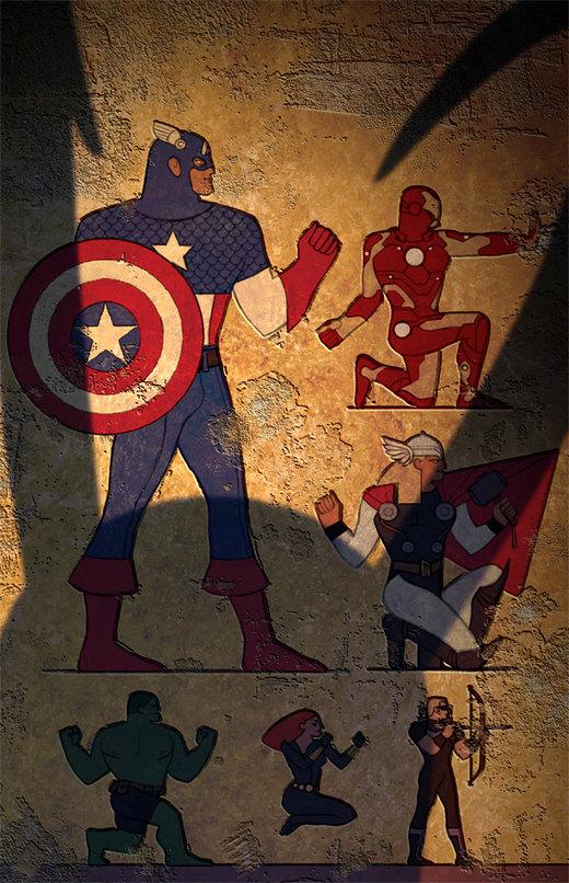 Egypt Avengers por ChristianNauck