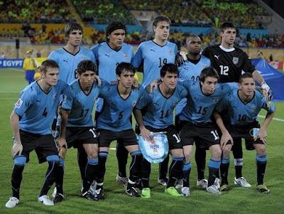 Jugadores Convocados por Uruguay para el Sudamericano Sub-20