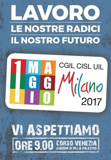 1 maggio  2017 a Milano