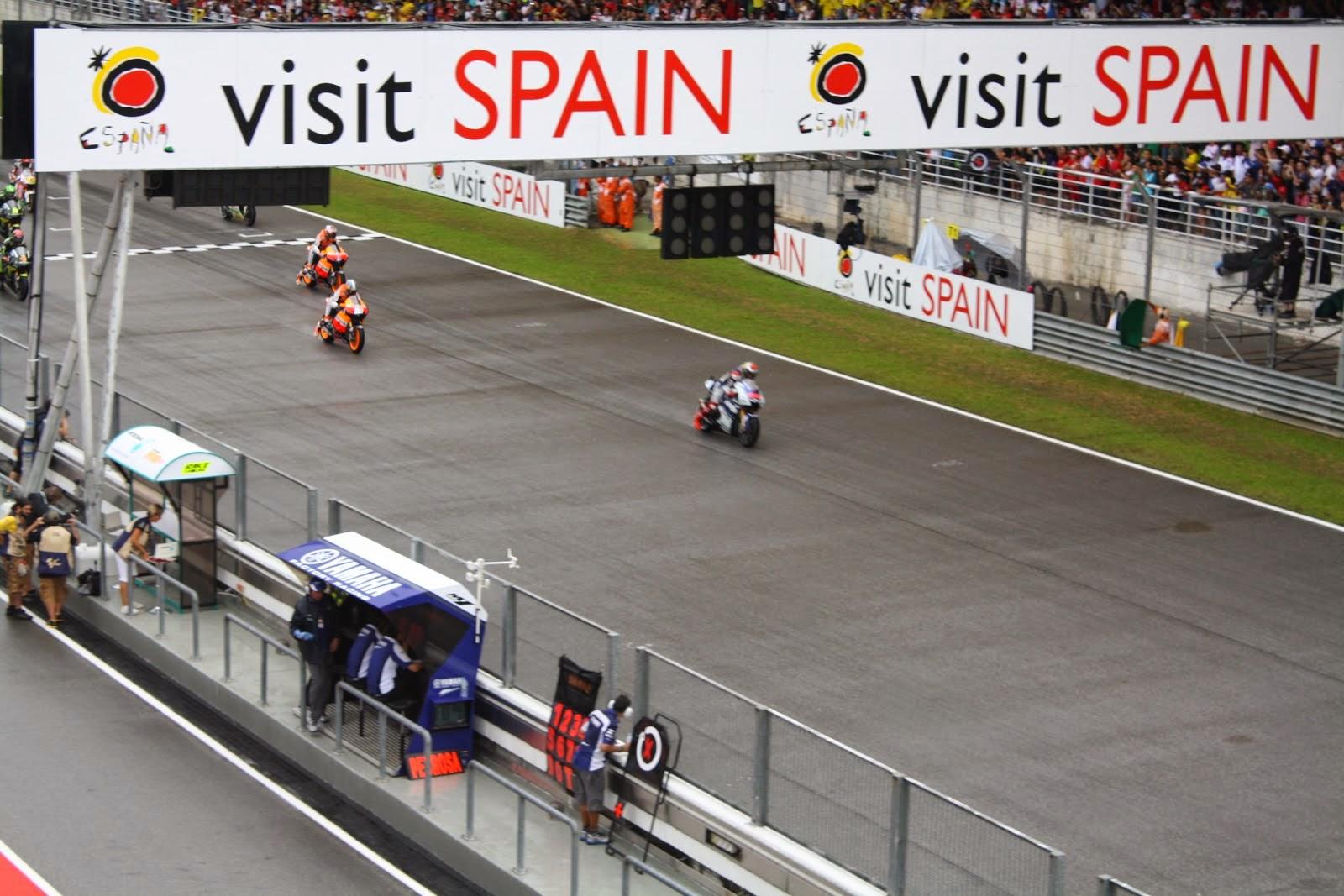 carrera de motogp en sepang 2012