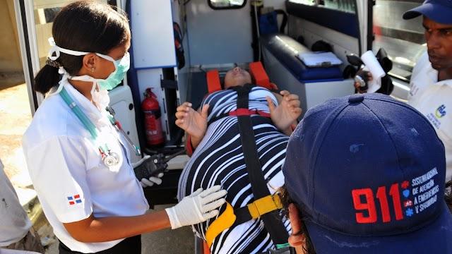 ¡Insólito! Mujer dio a luz dentro de ambulancia del 911