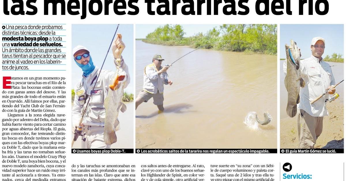 Pesca en el Río de la Plata: Viva la pesca Diario Popular ...