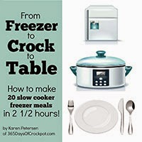 From Freezer to Crock to Table