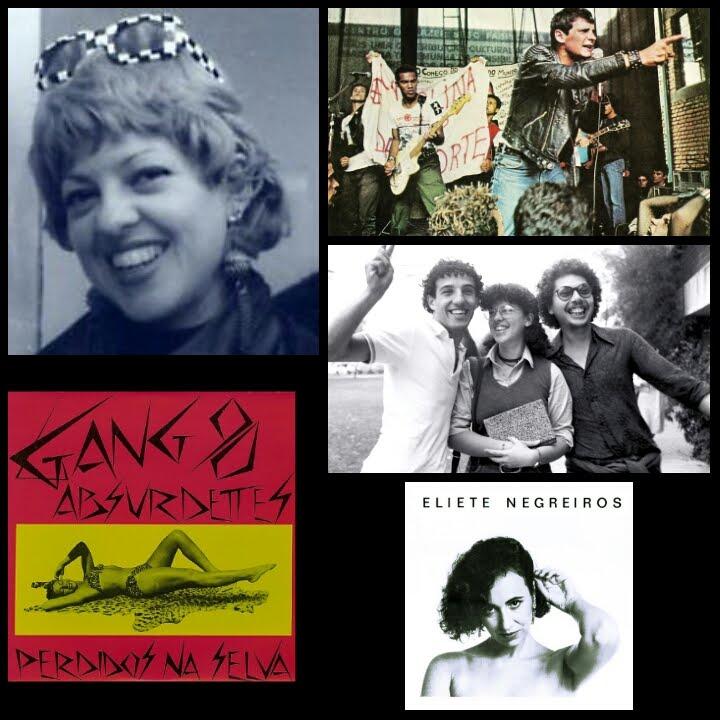 "Sandra Coutinho - ""A ECA, Gang 90 & Absurdettes e o Punk Rock"""