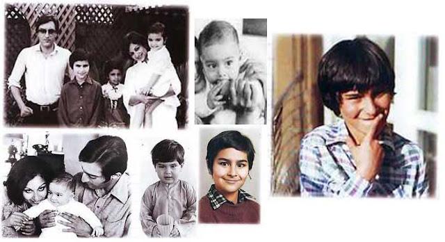 Saif Ali Khan's Childhood