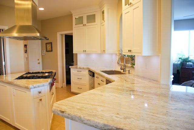The Granite Gurus Fantasy Brown Granite Kitchen From Mgs By Design