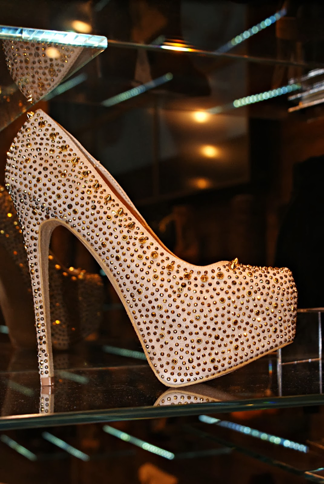 Подарок хрустальная туфелька