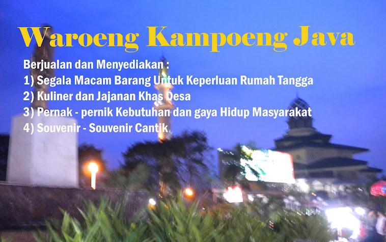 Waroeng Kampung Java