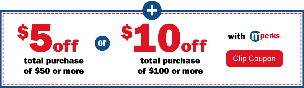 Meijer coupons 10 off