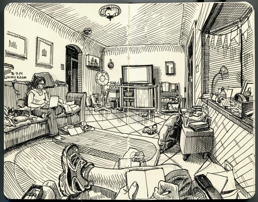 11-Paul-Heaston-Moleskine-Drawings-Points-of-View-www-designstack-co