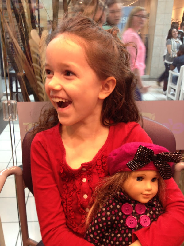 Getting her ears pierced! title=