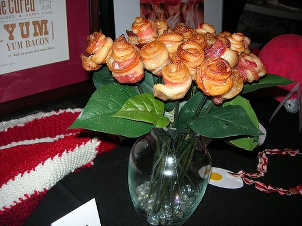 International Bacon Day, bacon flowers