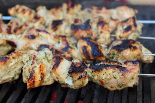 Chicken Spiedies Recipe — Dishmaps