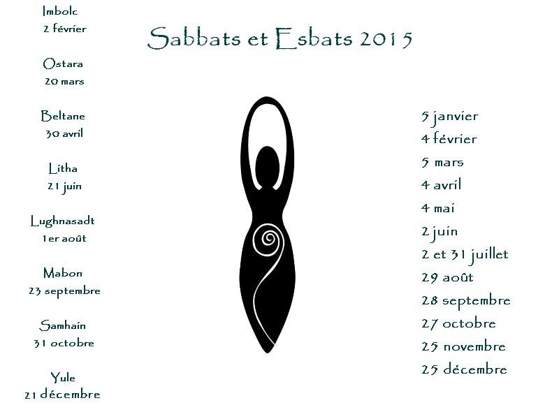 Sabbats et Esbats